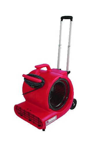 Sanitaire 3-Speed Air Mover with Built on Dolly