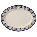 """G.E.T. Enterprises OP-618-SL Santa Lucia Melamine Oval Platter, 18"""" x 13-1/2"""""""