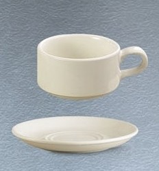 CAC China SMG-2 Rolled Edge Saucer, 7""