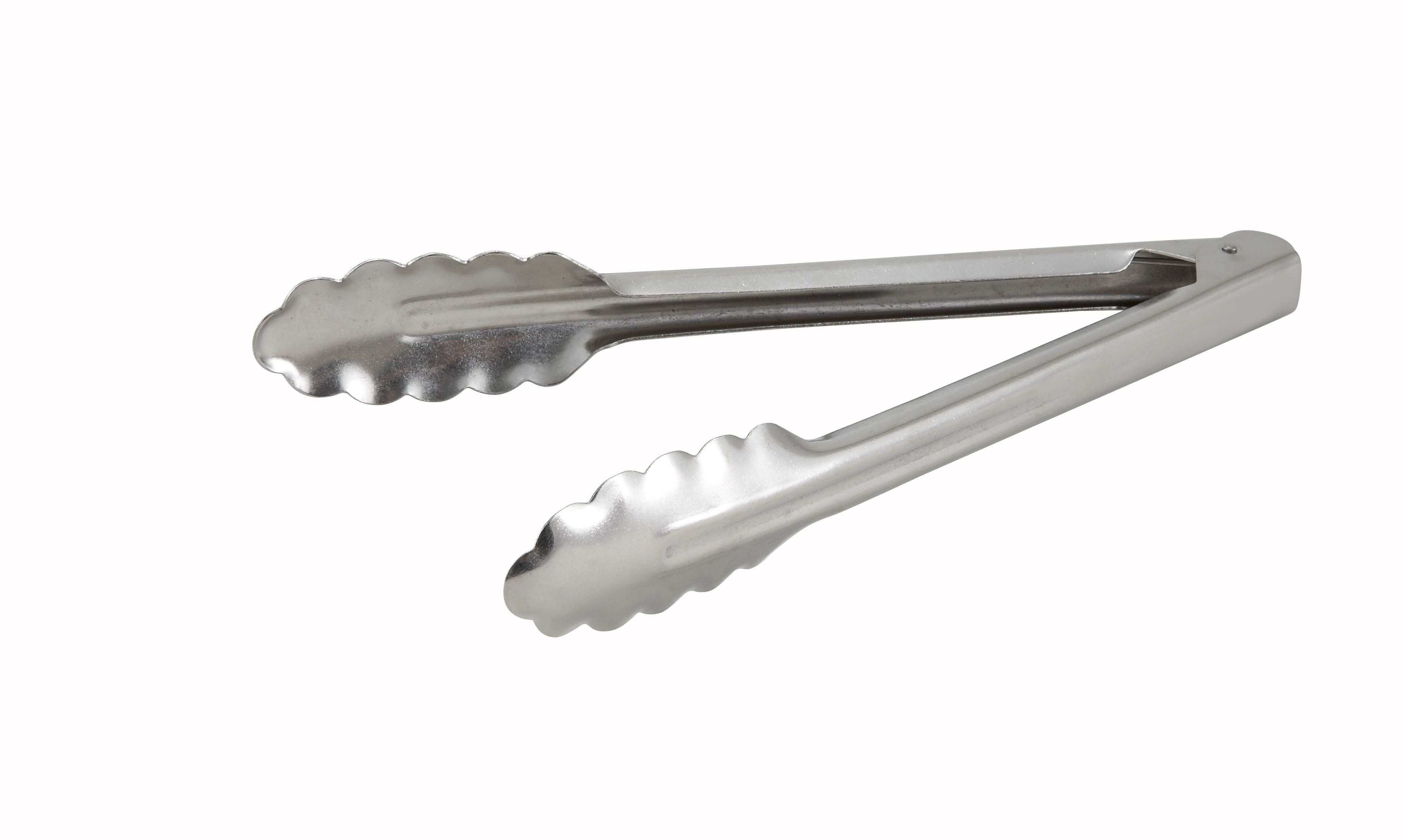 """Winco UT-9 Stainless Steel Heavy Weight Utility Tong 9"""""""