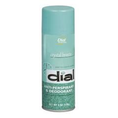 Scented Anti-Perspirant & Deodorant, Crystal Breeze, 6 oz. Aerosol