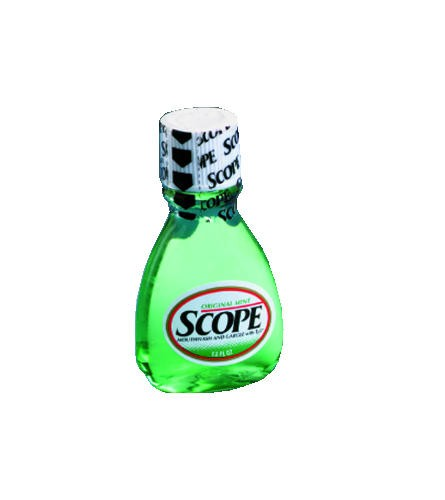 Scope Mouthwash Bottle Safety-Seal, 1.5 Oz