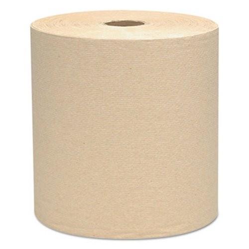 Scott Brown Hard Roll Towels, 1-Ply, 12 Rolls/Carton