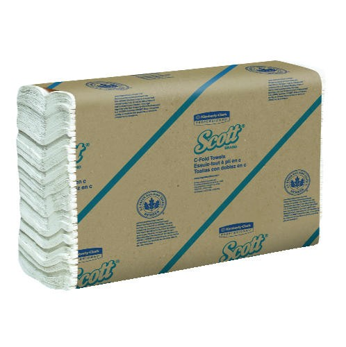 Scott C-Fold Paper Towel 13.15 X 10.13, 1-Ply, White