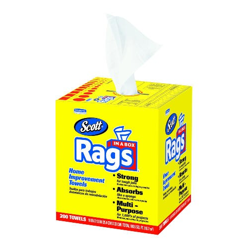 Scott Rags In A Box, White