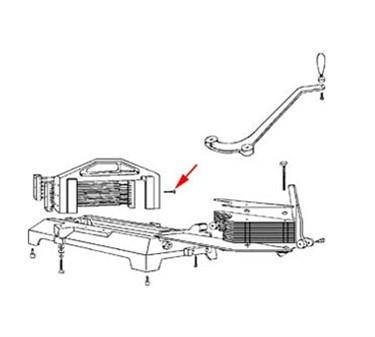 Franklin Machine Products  258-1014 Screw, Blade (12)