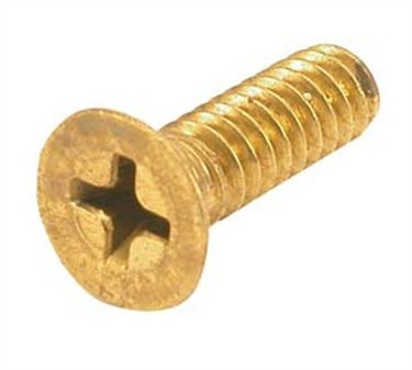Screw, Flat Head (10-24, Brass )