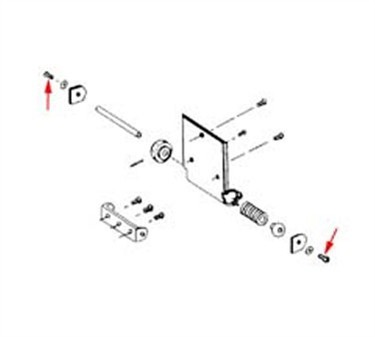 Franklin Machine Products  201-1012 Screw, Hinge Pin