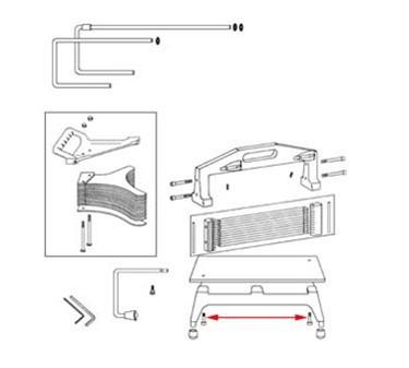 Franklin Machine Products  215-1117 Screw, Retaining
