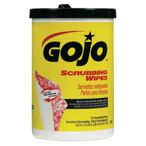 Scrubbing Pre-moistened Wipes, 72-Count Canister