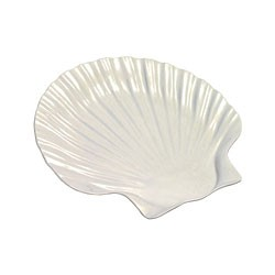 Sea Shell Melamine Dinner Plate - 10-3/4