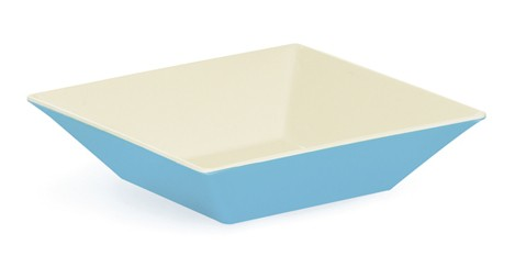 G.E.T. Enterprises ML-247-SE Seabreeze Melamine 2.5 Qt. Square Bowl 10""