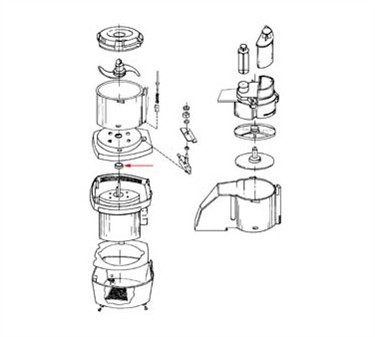 Franklin Machine Products  206-1045  Motor Support Seal