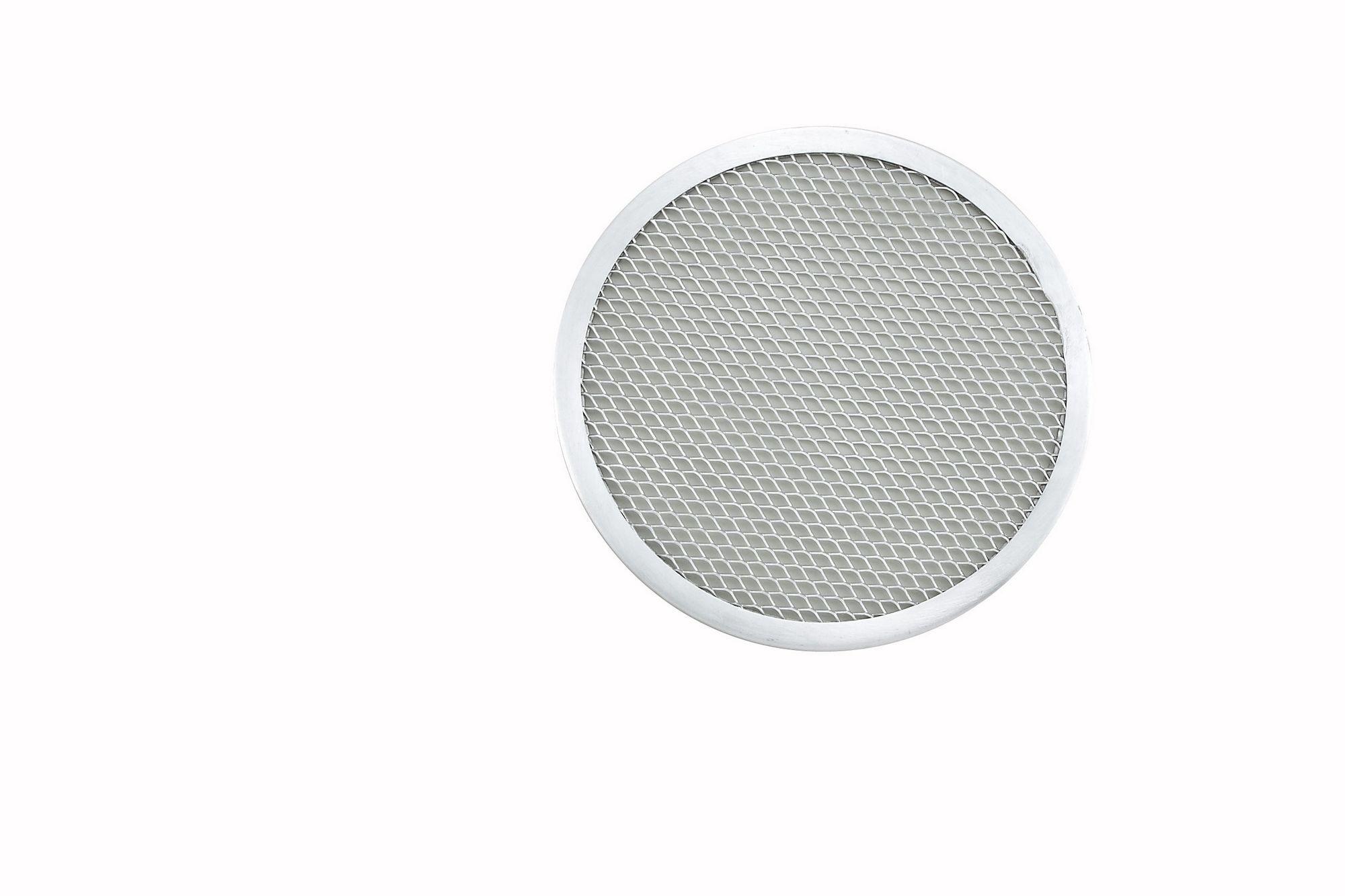 "Winco APZS-8 Seamless Aluminum Pizza Screen 8"" Dia."