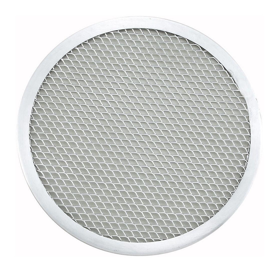 "Winco APZS-9 Seamless Aluminum Pizza Screen 9"" Dia."