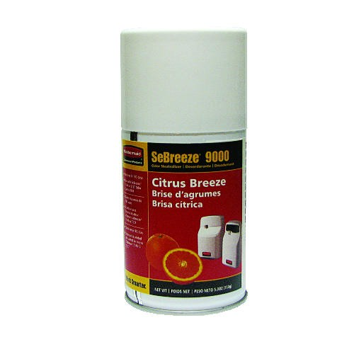 Sebreeze 9000 Series Odor Neutralizer Aerosol, Citrus Breeze