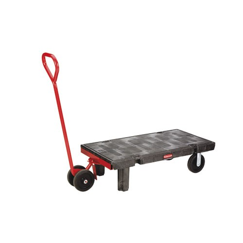 Semi-Live Skid Jack Handle, Red