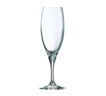 Sensation Fine Rim 6-1/2 Oz. Glass Champagne Flute - 7-13/16