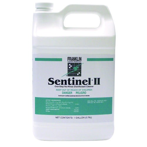 Sentinel II Disinfectant, Citrus Scent, Liquid, 1 gal. Bottle