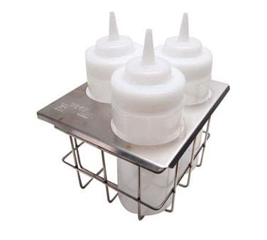 Franklin Machine Products  217-1094 Server #86831 Sbh-3 Squeeze Dispenser Holder, Triple Unit