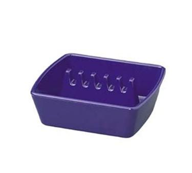 "Franklin Machine Products  280-1389 Set Of 12 Black Plastic Ash Tray 4-1/4"" x 3-3/4"""