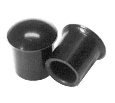 Franklin Machine Products  280-1428 Set Of 12 Whiskeygate Black Dust Caps