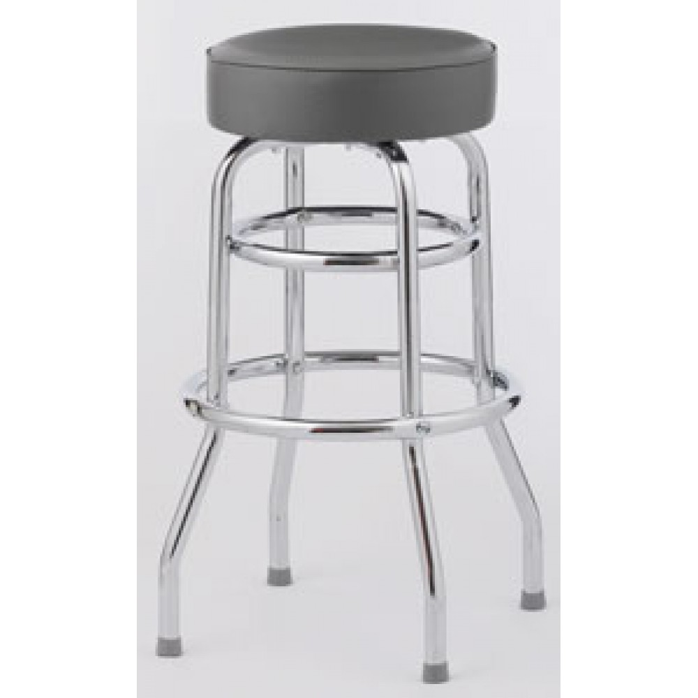 Set of Four Double Ring Bar Stool (Knocked Down)