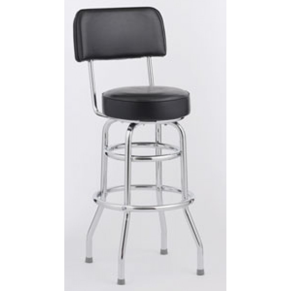 Astounding Royal Industries Roy 7716 Open Back Double Ring Bar Stool Set Of 4 Beatyapartments Chair Design Images Beatyapartmentscom