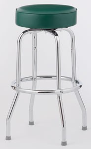 Set of Four Single Ring Bar Stool (Knocked Down)