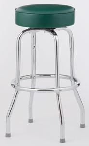 Royal Industries ROY 7711 Single Ring Bar Stool, Set of 4
