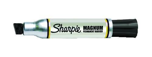 Sharpie Magnum Permanent Marker, 1/2