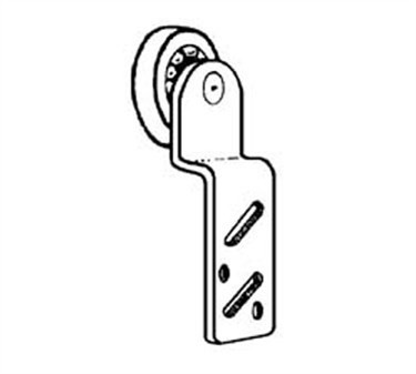 Franklin Machine Products  134-1055 Sheave, Door (Front, Steel Tire )