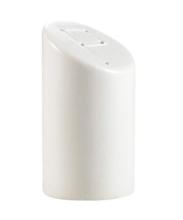 "CAC China SHER-PS Sheer Bone White Pepper Shaker, 3 1/8""H"