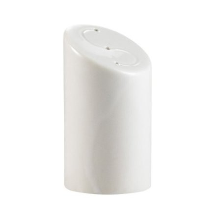 "CAC China SHER-SS Sheer Bone White Salt Shaker, 3 1/8""H"