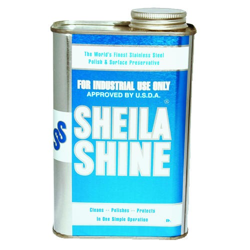 Sheila Shine Stainless Steel Cleaner & Polish, Quart