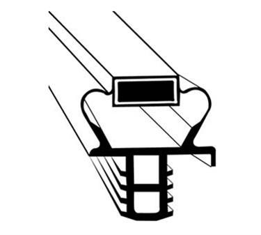 Franklin Machine Products  235-1060 Shelf, Ref (Tapered, 21-1/4X26D)