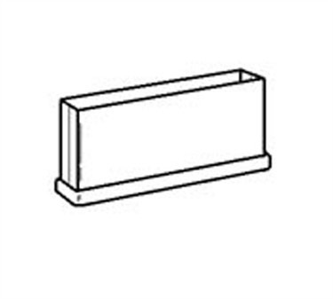 Franklin Machine Products  141-1072 Shoe, Partition Base (F/ 6W )