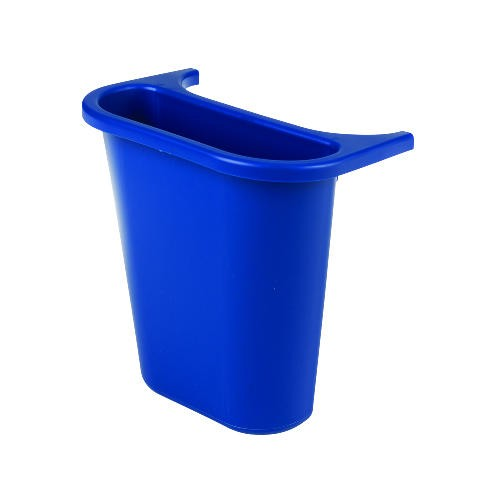 Side Bin Recycling Container, Blue