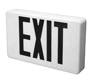 Franklin Machine Products  253-1249 Sign, Lighted Exit (120V)