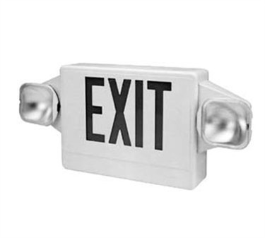 Franklin Machine Products  253-1250 Sign, Lighted Exit (120V, with Bat)