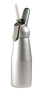 Royal Industries whc p71 Silver Half-Liter Whipped Cream Dispensing Bottle