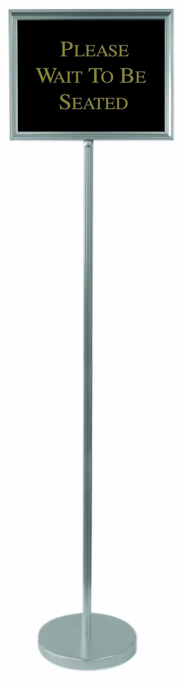 """Aarco Products TI-1CH Director Aluminum Changeable Sign with Silver Frame, 59"""""""