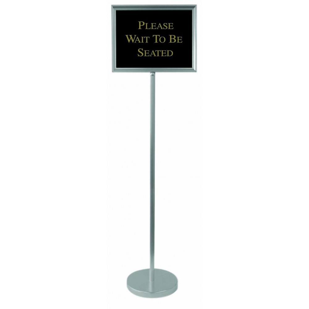 Silver Single Pedestal Director Board - 54
