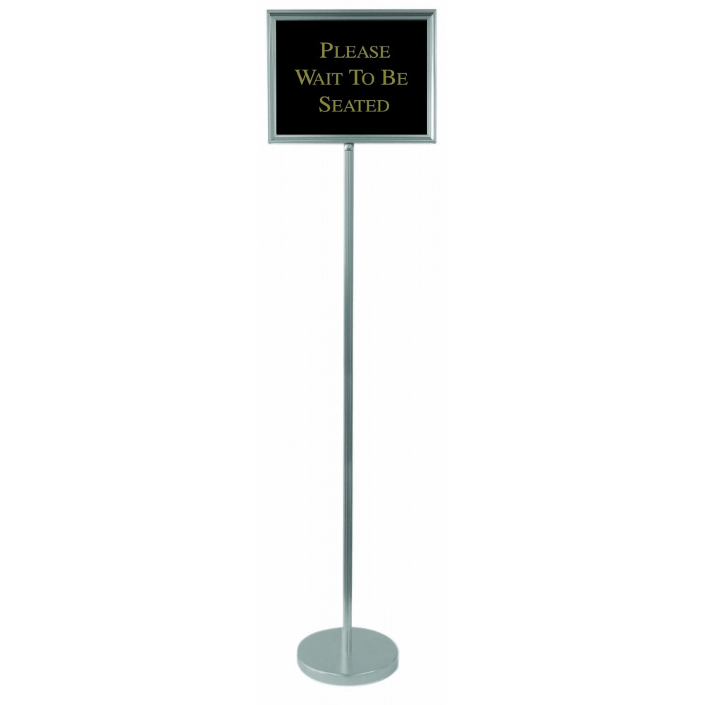 Aarco Products TI-1CH Director Aluminum Changeable Sign with Silver Frame, 59""