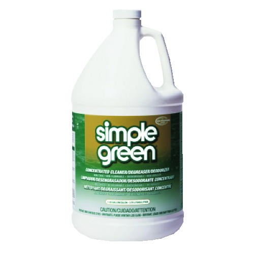 Simple Green Concentrate Cleaner, Degreaser and Deodorizer, Gallon Bottles