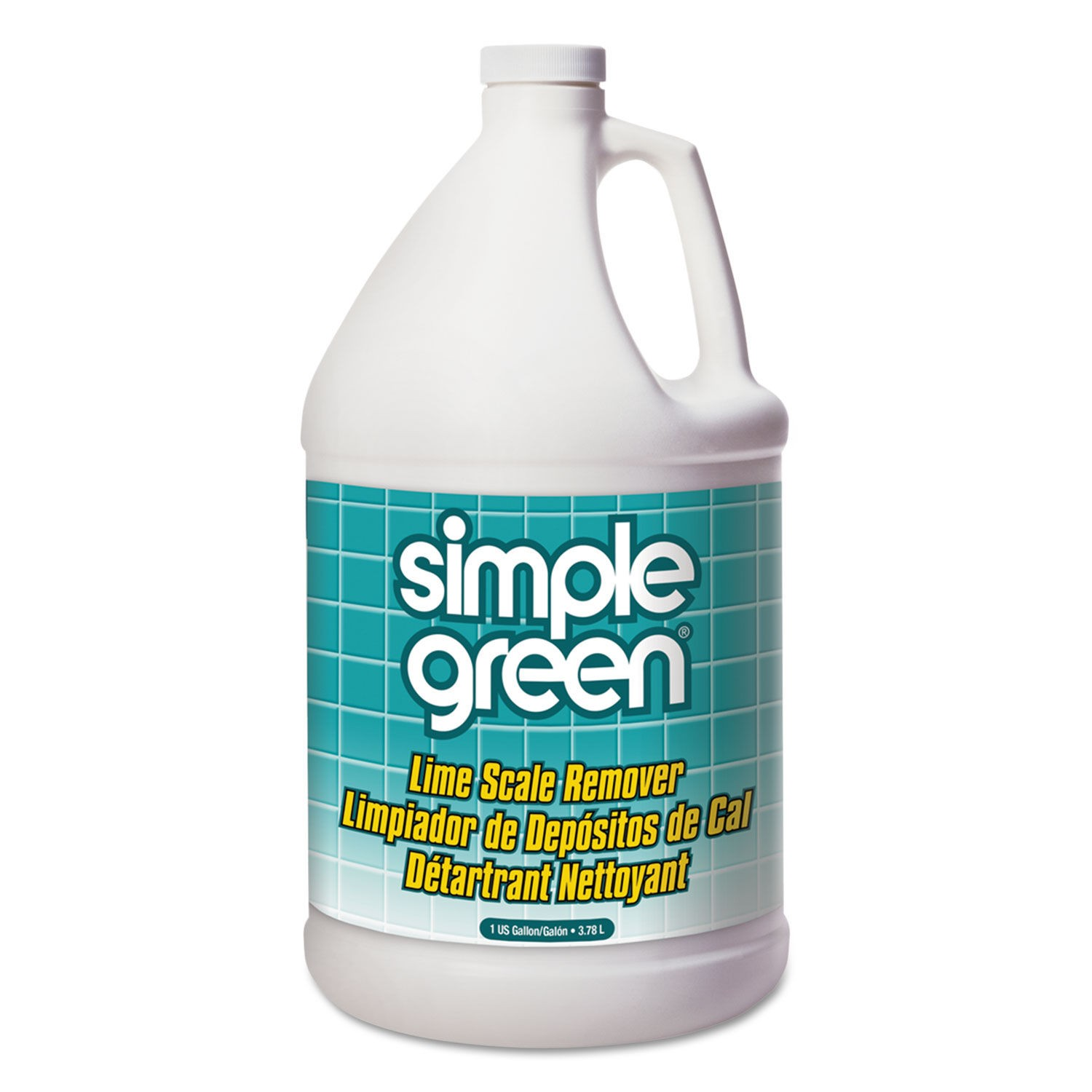 Simple Green Lime Scale Remover, Wintergreen, 1 Gallon Bottle