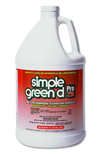 Simple Green Professional 3 One-Step Germicidal Cleaner and Deodorant, Gallon