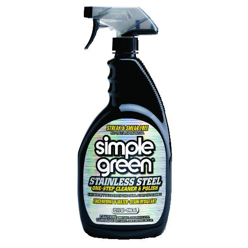 Simple Green Stainless Steel Cleaner, 32 Oz