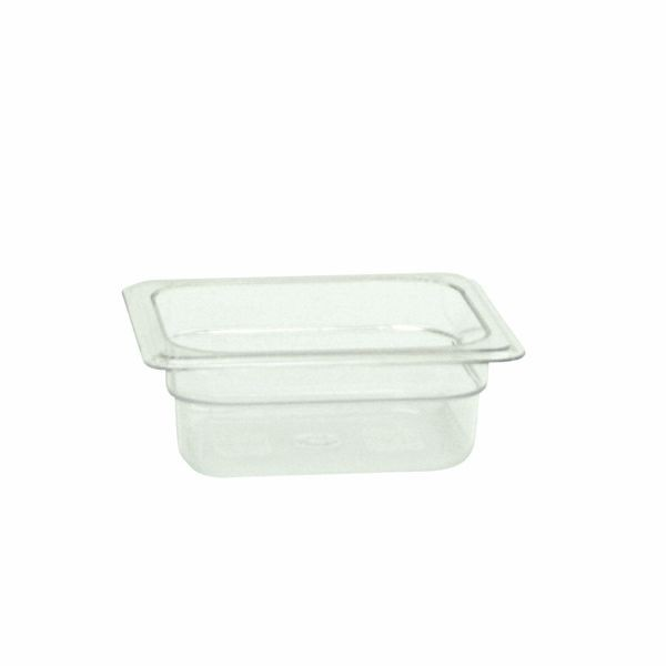 "Thunder Group PLPA8162 Sixth Size 2 1/2"" Deep Plastic Food Pan"