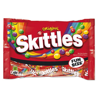 Skittles Chewy Candy, Original, Fun Size, 10.72 oz Bag